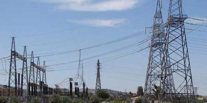 كهرباء درعا: انقطاع التيار الكهربائي عن بعض المناطق يعود لصيانة خط تشرين الكوم