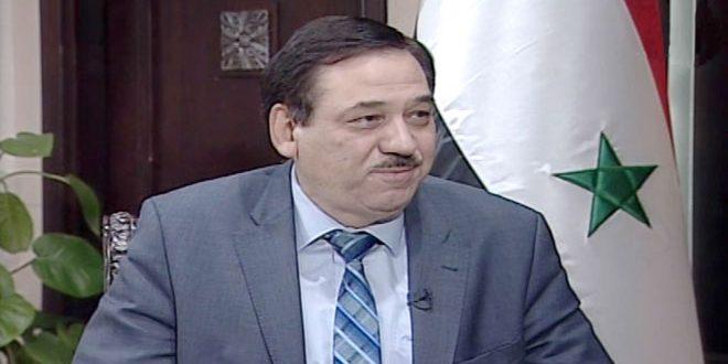 وزير المالية: عجلة الإنتاج في سورية عادت بقوة و اعتمادات لأكثر من 60 ألف فرصة عمل جديدة