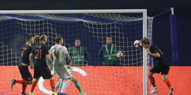 كرواتيا تهزم إسبانيا في دوري الأمم الأوروبية