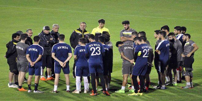 للمرة الثانية… منتخب سورية الأولمبي لكرة القدم يواجه نظيره البحريني
