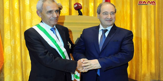حفل وداع لسفير جمهورية أرمينيا بمناسبة انتهاء مهامه