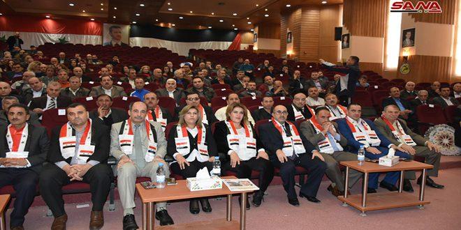 دعم الأندية وإعادة افتتاح المراكز التدريبية أبرز مطالب المؤتمر السنوي لرياضيي حماة