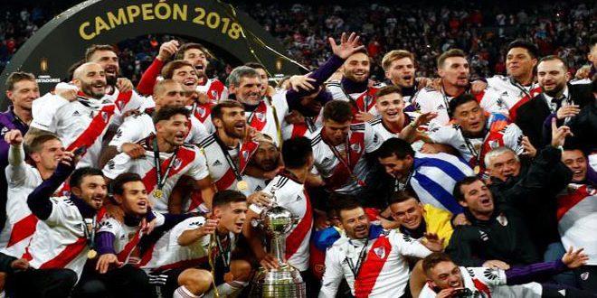 ريفير بلايت يحرز لقب كأس ليبرتادوريس للمرة الرابعة في تاريخه