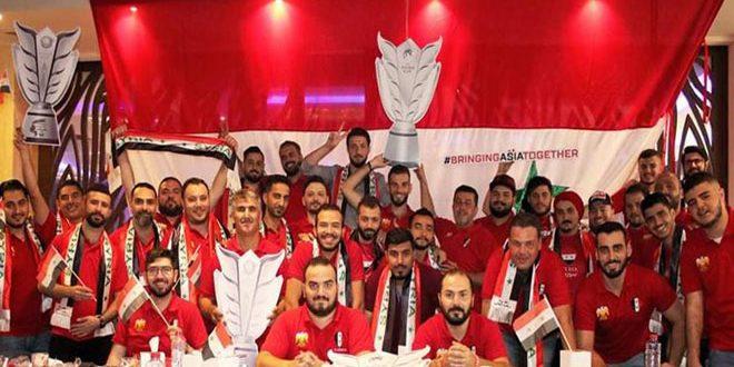 رابطة مشجعي منتخب سورية تتحضر لنهائيات آسيا بكرة القدم