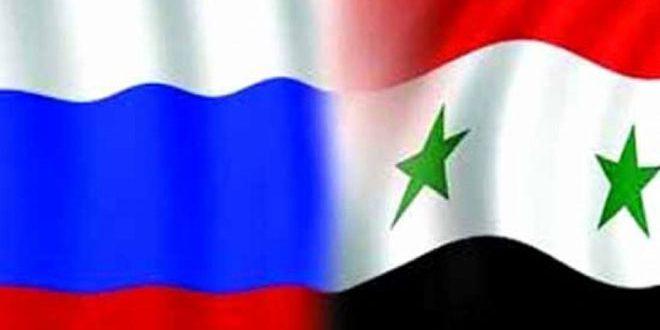 اللجنة السورية الروسية للتعاون الفني والعلمي تعقد اجتماعاتها الأربعاء بدمشق