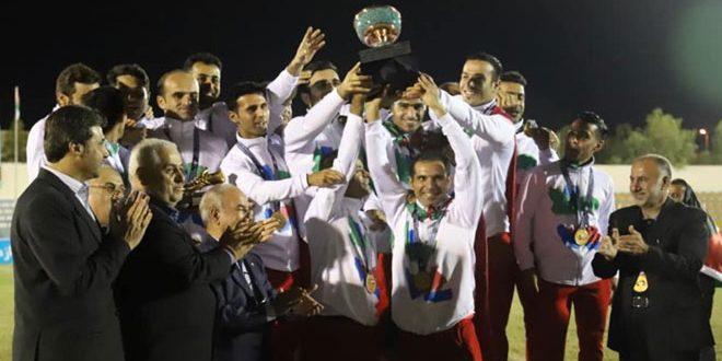 المنتخب الإيراني يحرز لقب بطولة آسيا وأوقيانوسيا لذوي الإعاقة الذهنية لكرة القدم
