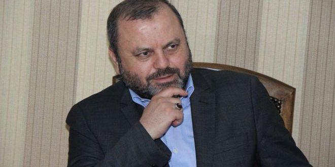 الهاشمي: سورية حالت دون تحقيق الأهداف الصهيونية في المنطقة