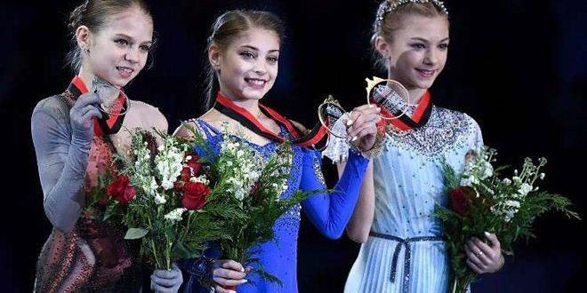 هيمنة روسية على منصة التتويج في جائزة (غران بري) للتزلج الفني بكندا