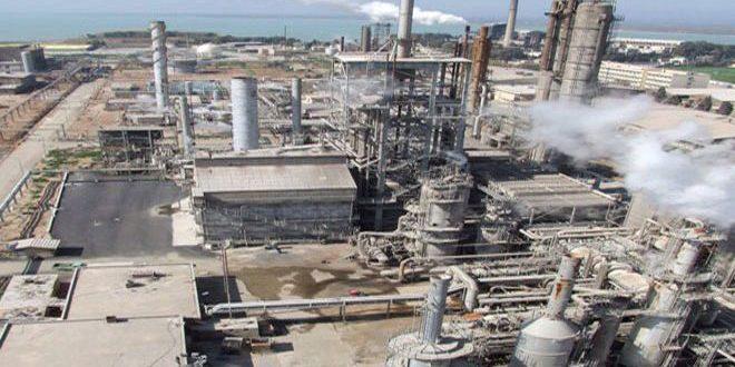 إعادة إقلاع معمل السماد الفوسفاتي في شركة الأسمدة بحمص