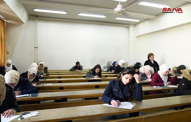 امتحانات الدورة الفصلية الأولى في الجامعات الحكومية - S A N A