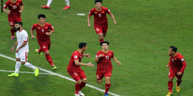 المنتخب الفيتنامي يقصي منتخب الأردن من دور الـ 16 في كأس آسيا