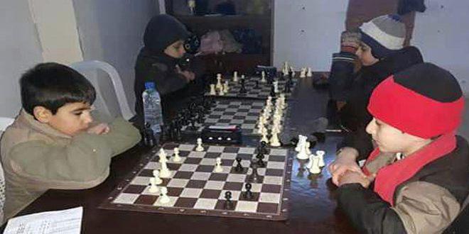 انطلاق بطولة محافظة حمص بالشطرنج