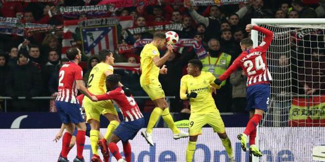 خروج أتلتيكو من كأس ملك إسبانيا عقب تعادله مع جيرونا