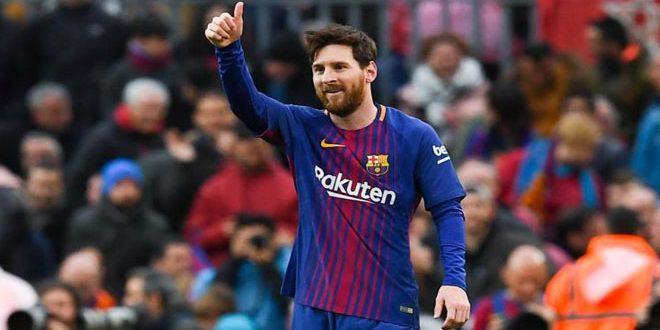 ميسي خارج تشكيلة برشلونة أمام إشبيليا في كأس الملك