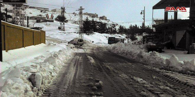 إدارة المرور: جميع الطرق العامة في المحافظات سالكة باستثناء طرق فرعية بريف دمشق