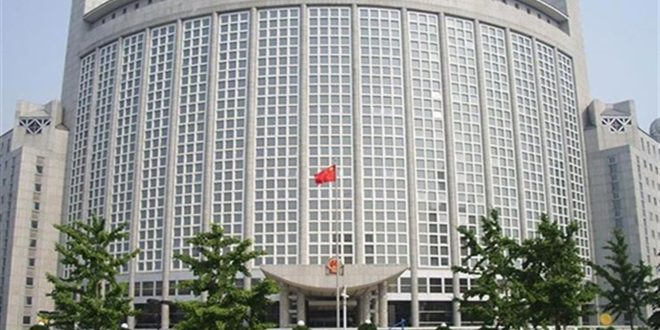 الصين: ضرورة احترام والدفاع عن سيادة سورية ووحدة أراضيها