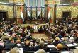 افتتاح أعمال الدورة العادية التاسعة لمجلس الشعب بحضور المهندس خميس وعدد من الوزراء
