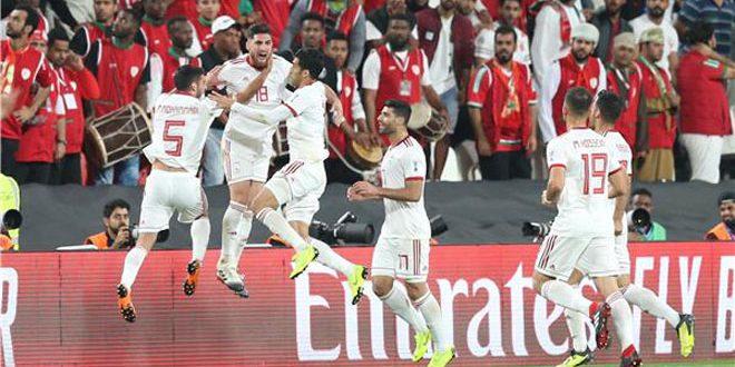 إيران إلى الدور ربع النهائي بعد فوزها على سلطنة عمان في كاس آسيا