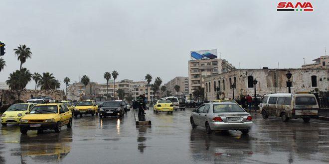أمطار أغزرها 54 مم في اللاذقية.. و الحرارة إلى ارتفاع