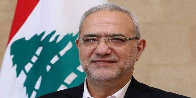 قماطي: توطيد العلاقات مع سورية يصب في مصلحة لبنان