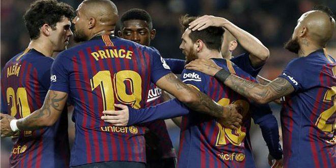 برشلونة يفوز على بلد الوليد ويعزز صدارته للدوري الإسباني