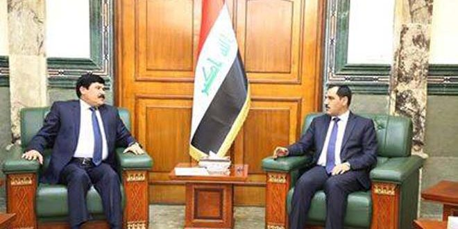 مباحثات سورية عراقية لتعزيز التعاون الصناعي وتبادل الخبرات والاستثمار
