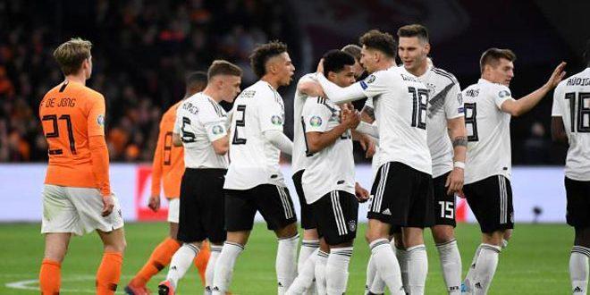 ألمانيا تهزم هولندا بتصفيات بطولة أوروبا 2020