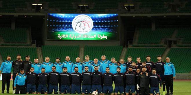 منتخب سورية بكرة القدم للرجال يخسر أمام نظيره العراقي بدورة الصداقة الودية الدولية