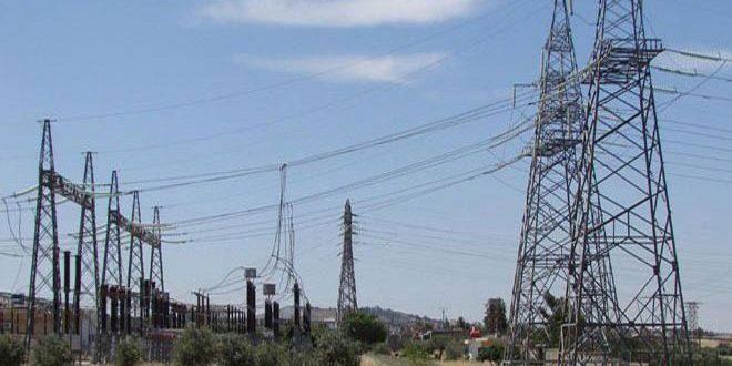 عودة التيار الكهربائي إلى محافظة الحسكة بعد إصلاح عطل طارئ