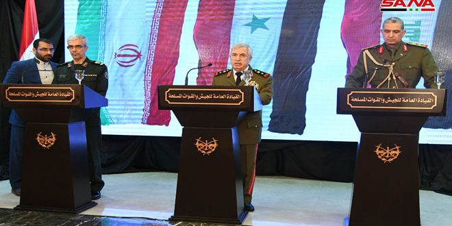 العماد أيوب: سنستعيد السيطرة على كل شبر من الأرض السورية