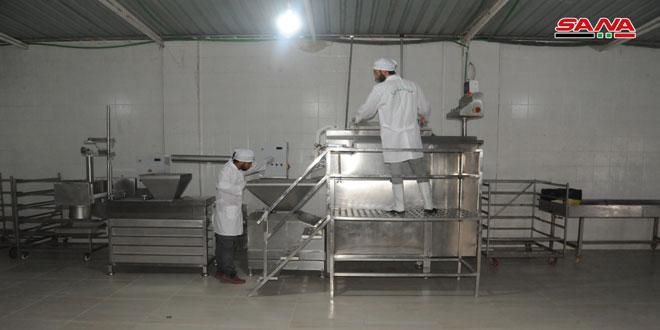 قطاع الصناعة يتعافى في درعا
