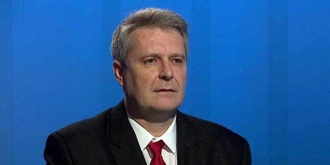 غروسبيتش لـ سانا: (التحالف الدولي) يدعم الإرهاب في سورية