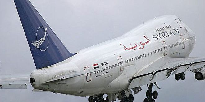 السورية للطيران تعلن عودة الرحلات من أبو ظبي إلى اللاذقية وبالعكس