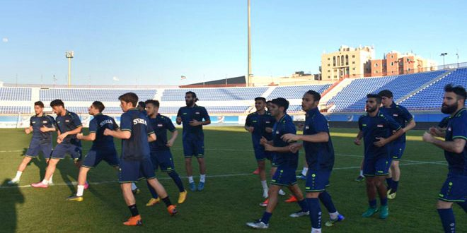 منتخب سورية الأولمبي لكرة القدم يلتقي منتخب قيرغيزستان الجمعة المقبل في افتتاح تصفيات آسيا