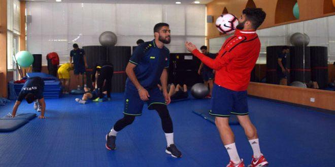 الأولمبي السوري في مواجهة نظيره الأردني بتصفيات آسيا تحت 23 عاماً