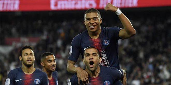 باريس سان جيرمان يضمن لقب الدوري الفرنسي بفوزه على موناكو