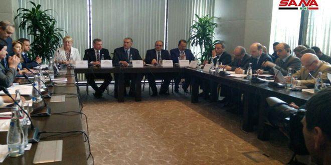 مباحثات حول التعاون الاقتصادي بين سورية وجمهورية القرم