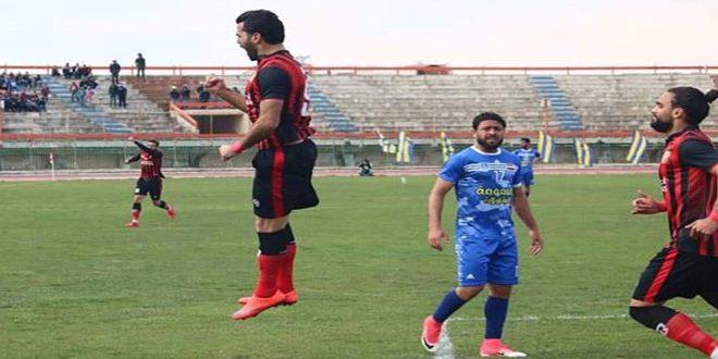 الجيش إلى المركز الثاني في الدوري الممتاز لكرة القدم