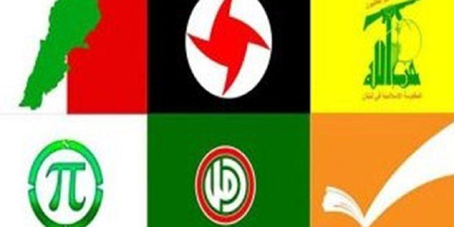 الأحزاب اللبنانية: الضغوط الأمريكية على دول المقاومة ستزيدها قوة