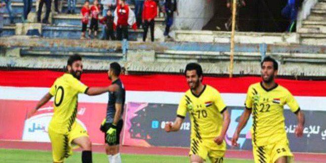 الوحدة يفوز على الكرامة وتعادل الساحل والوثبة في دوري كرة القدم
