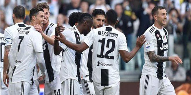 يوفنتوس يتوج بلقب الدوري الإيطالي