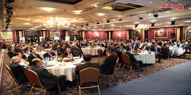 ملتقى التبادل الاقتصادي العربي يوصي بكسر الإجراءات الاقتصادية القسرية المفروضة على الشعب السوري-فيديو