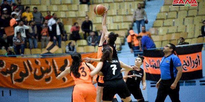 الثورة يفوز على الوحدة في الجولة الأولى لنهائي دوري كرة السلة للسيدات