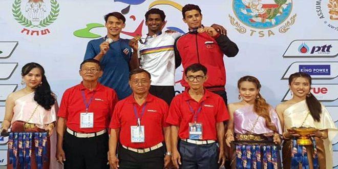 فضية وبرونزية لسورية في أول أيام بطولة تايلاند للسباحة