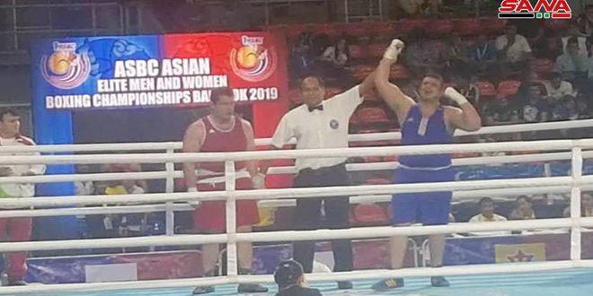 ملاكمانا محمد مليس وعلاء غصون يتأهلان إلى بطولة العالم