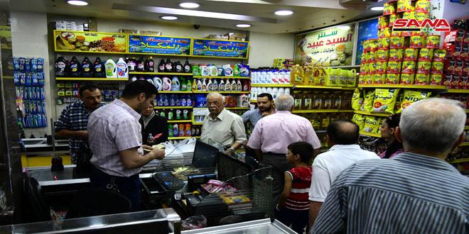 جولة تفقدية على سوق الميدان بدمشق وتنظيم عدد من الضبوط بحق المخالفين