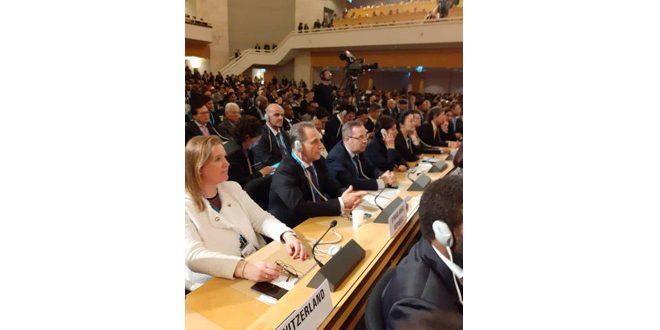 بمشاركة سورية.. انطلاق الدورة الـ 72 لجمعية الصحة العالمية