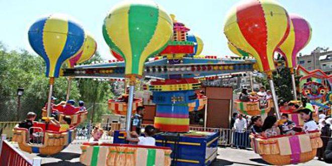 محافظة دمشق تحدد أماكن ألعاب الأطفال في العيد