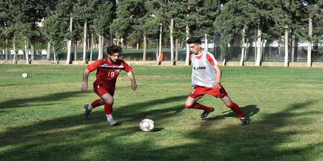 بدء المرحلة الرابعة لتحضيرات منتخب سورية للشباب بكرة القدم استعدادا لتصفيات آسيا