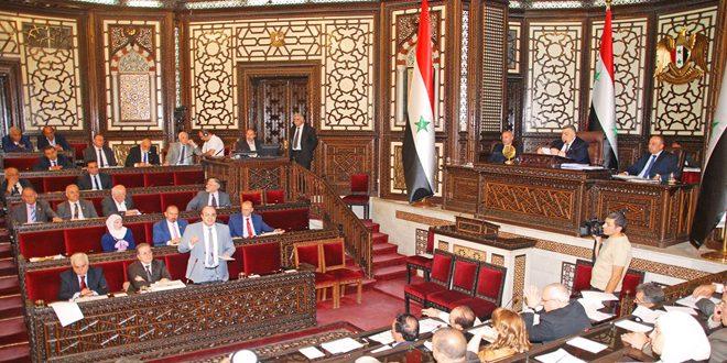مجلس الشعب يقر مشروع القانون المتضمن إلغاء القانون الخاص بإحداث اتحاد المصدرين السوريين